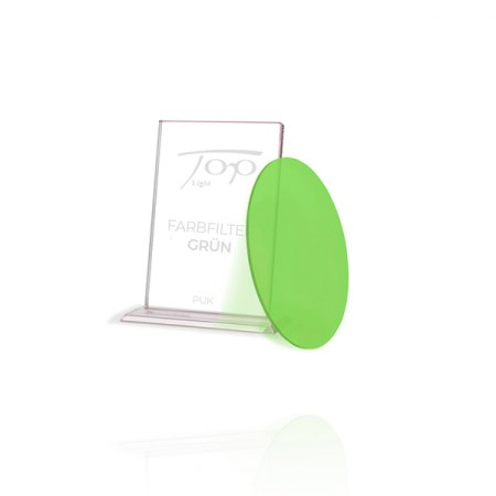 Top Light Accessories Puk colour filter green - under glass or lens only 2-2034