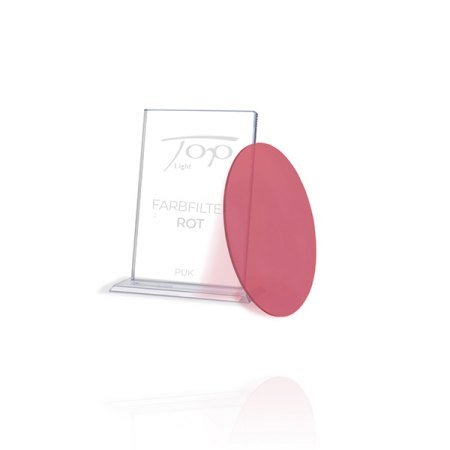 Top Light Accessories Puk colour filter red - under glass or lens only 2-2028