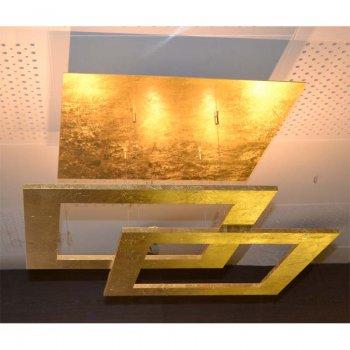 led deckenleuchte 10 flammig 34281009 blattgold escale. Black Bedroom Furniture Sets. Home Design Ideas