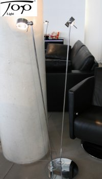 "Floor lamp / reading lamp ""PUK FLOOR SISTER"" Top Light - Kopie"