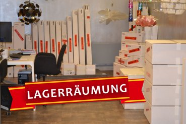 Ausstellungsstück   LED Leuchte STEP Alu Weiss 2 Flg. 36980209 Bopp