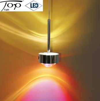 "Top Light LED Pendelleuchte ""Puk ceiling long one"" 2 x 8 Watt Farbauswahl"