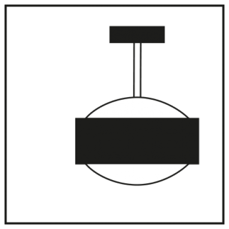 Top Light LED Puk Eye Ceiling, Farbauswahl