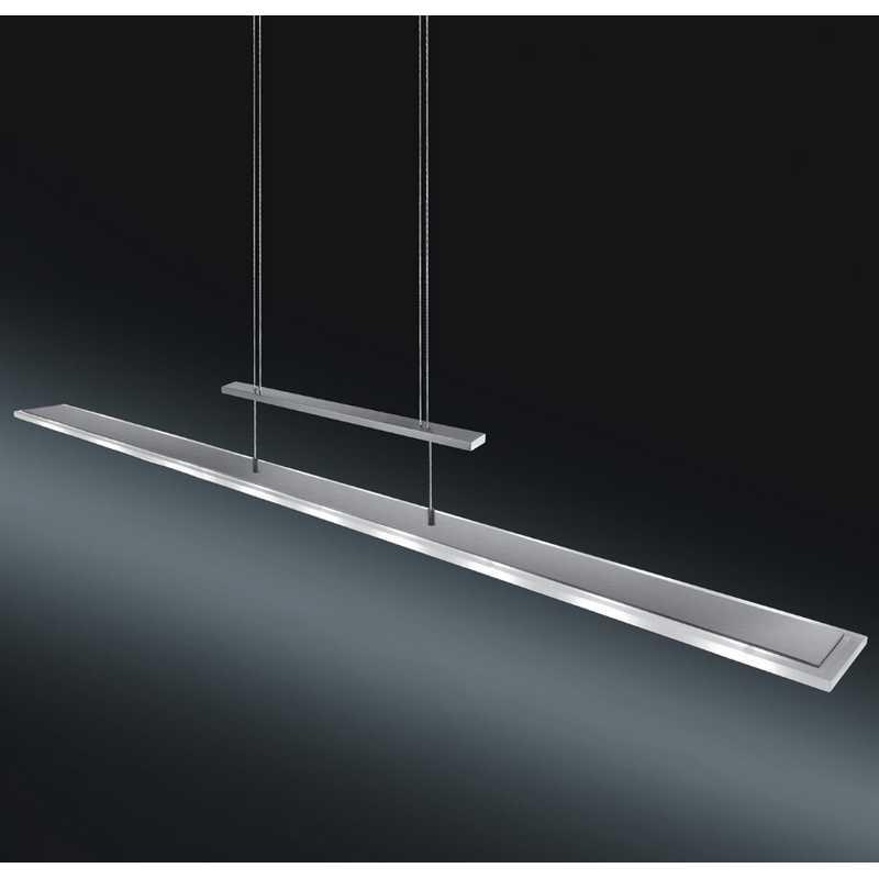 h henverstellbare rechteckige led pendelleuchte antea 76. Black Bedroom Furniture Sets. Home Design Ideas