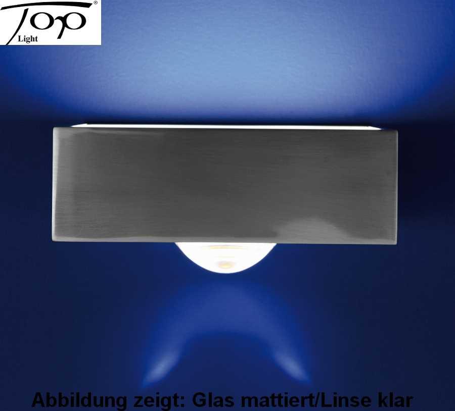 wandleuchte spiegelleuchte focus 150 15cm 1 flamig top light. Black Bedroom Furniture Sets. Home Design Ideas