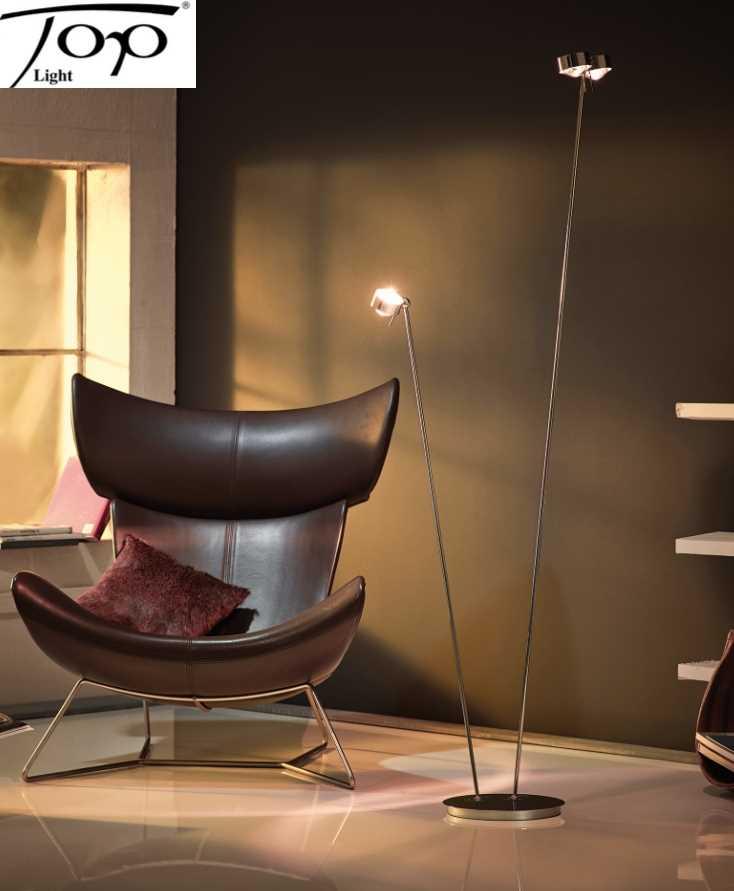 stehlampe leselampe puk floor mother kid dimmbar top light. Black Bedroom Furniture Sets. Home Design Ideas