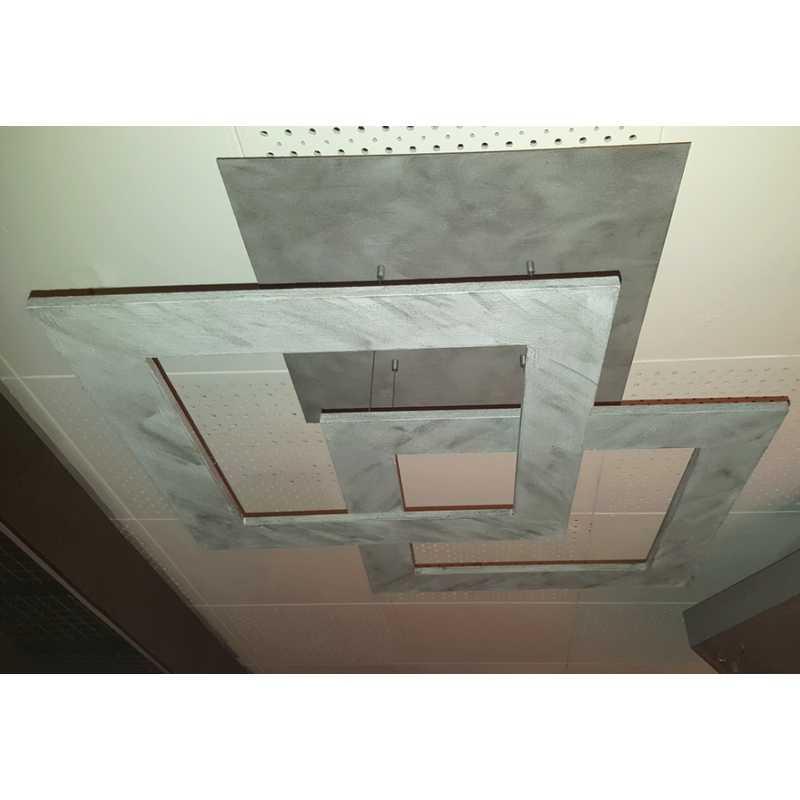 Led Deckenleuchte Zen Due 47981009 Beton Escale Leuchten
