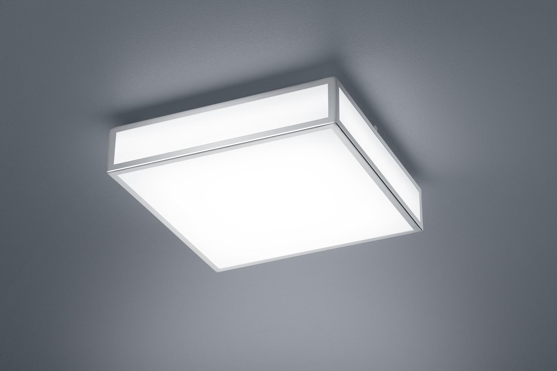 Helestra 20/20.20 LED Deckenleuchte ZELO chrom Acrylglas satiniert