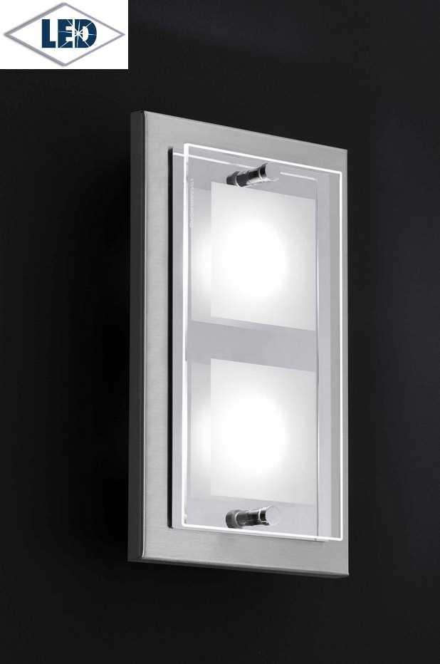 wandleuchte domino led 55 272 063 2 fach grossmann. Black Bedroom Furniture Sets. Home Design Ideas