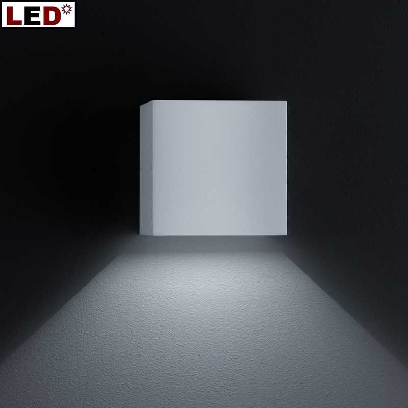 Helestra Siri 44 LED-Außenwandleuchte mattschwarz