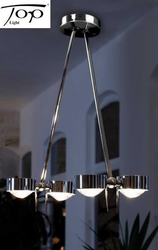 top light deckenleuchte puk ceiling sister twin schwarz chrom versch arml ngen. Black Bedroom Furniture Sets. Home Design Ideas