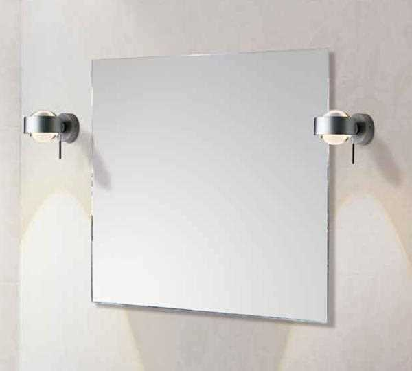 "TOP Light Wandleuchte ""PUK WALL+"" Chrom 2-0802"