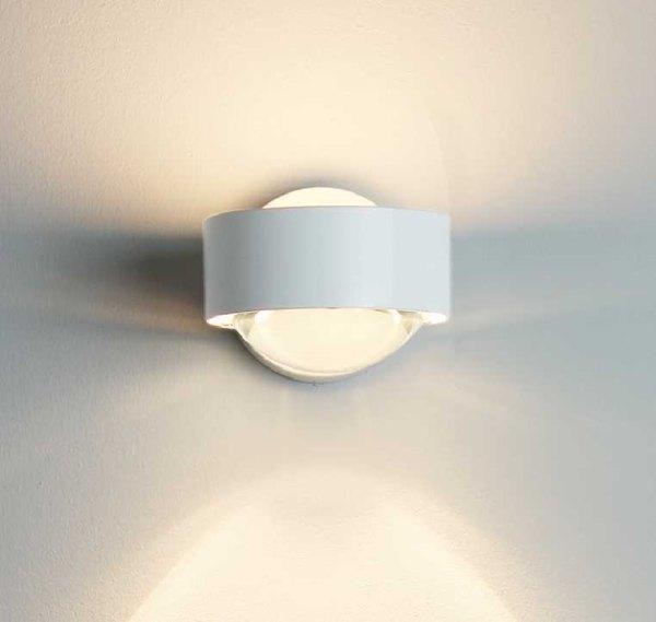 wandlampe puk wall 2 0814 weiss halogen top light. Black Bedroom Furniture Sets. Home Design Ideas