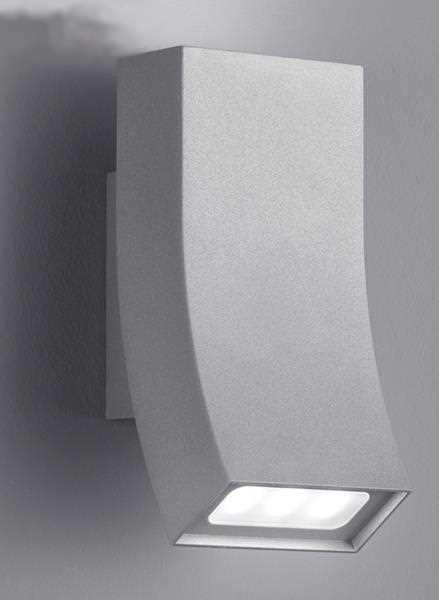 led lampe f r die aussenwand au enwandlampe aluminium ip54. Black Bedroom Furniture Sets. Home Design Ideas