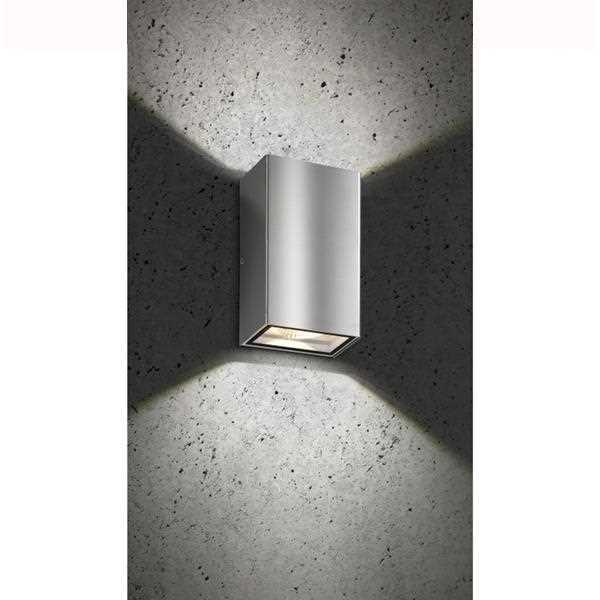led au enwandleuchte up down 5010 edelstahl lcd leuchten. Black Bedroom Furniture Sets. Home Design Ideas