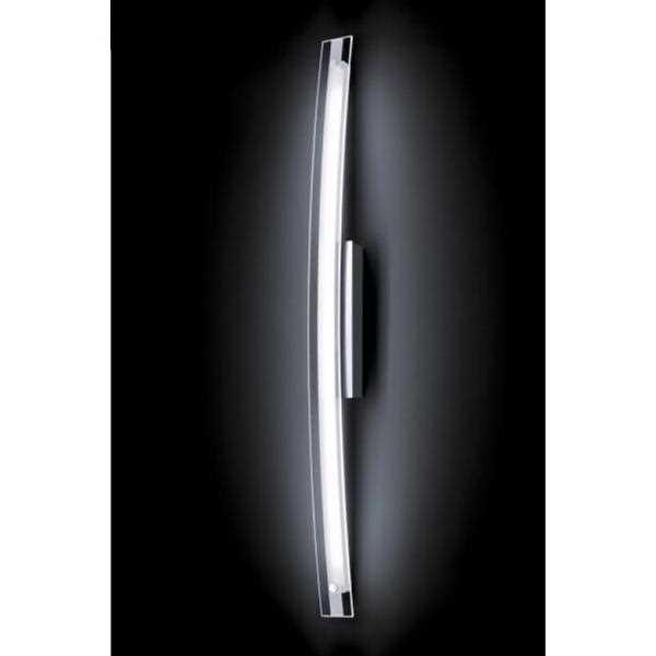 led wandlampe vita chrom 53 764 064 dimmbar 80cm grossmann. Black Bedroom Furniture Sets. Home Design Ideas