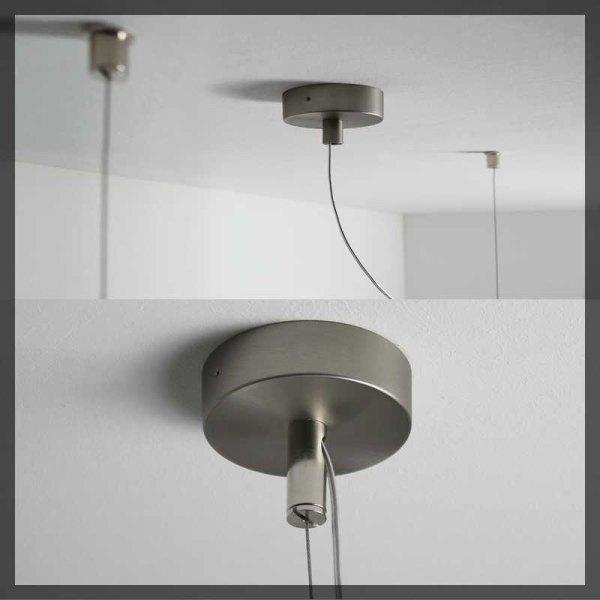 led pendelleuchte puk maxx bone dimmbar top light. Black Bedroom Furniture Sets. Home Design Ideas