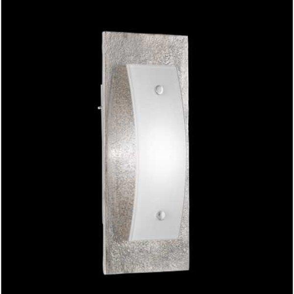 led wandleuchte 13097 shine by fischer nickel antik. Black Bedroom Furniture Sets. Home Design Ideas
