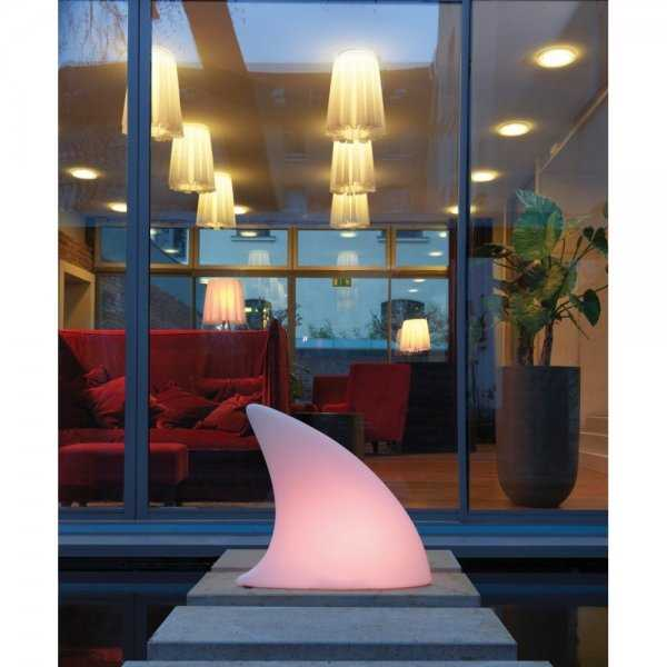 "Bodenleuchte ""Shark Outdoor LED"" 26-02-01-LED weiß Multicolour Moree"