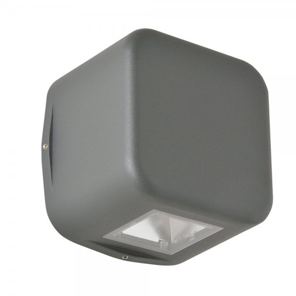 LED Außenwandleuchte 1411LED Graphit Up & Downlight 45 Grad LCD