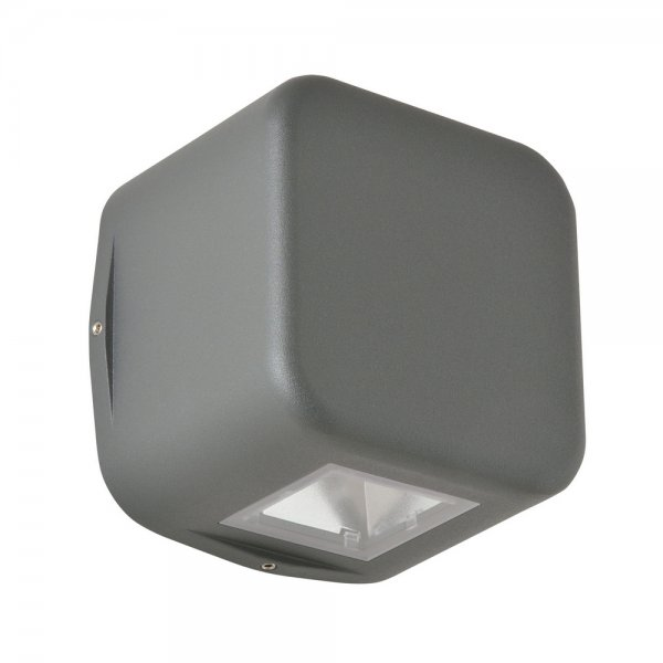LED Außenwandleuchte 1412LED Graphit Up & Downlight 10/45 Grad LCD
