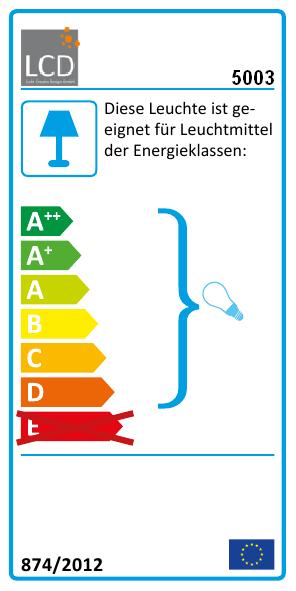 """Außenwandleuchte Up & Down """"5003"""" Edelstahl LCD Leuchten"""