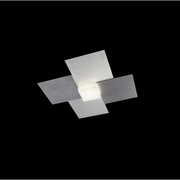 led deckenleuchte creo aluminium 51 770 072 grossmann. Black Bedroom Furniture Sets. Home Design Ideas