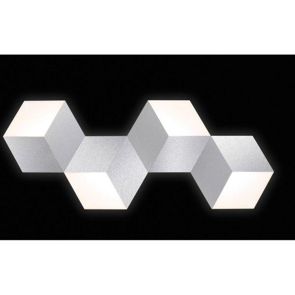 led leuchtw rfel 4 flg geo 74 779 072 grossmann. Black Bedroom Furniture Sets. Home Design Ideas