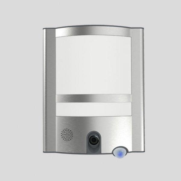 led au en security kamera leuchte vesta st1906 cam mit bewegungsmelder. Black Bedroom Furniture Sets. Home Design Ideas