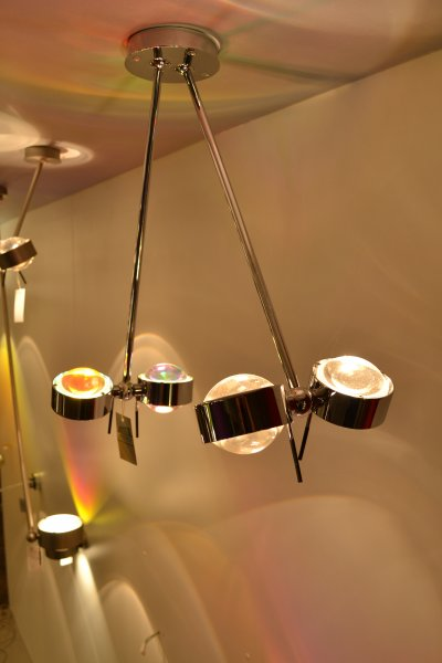 top light deckenleuchte puk ceiling sister twin chrom. Black Bedroom Furniture Sets. Home Design Ideas