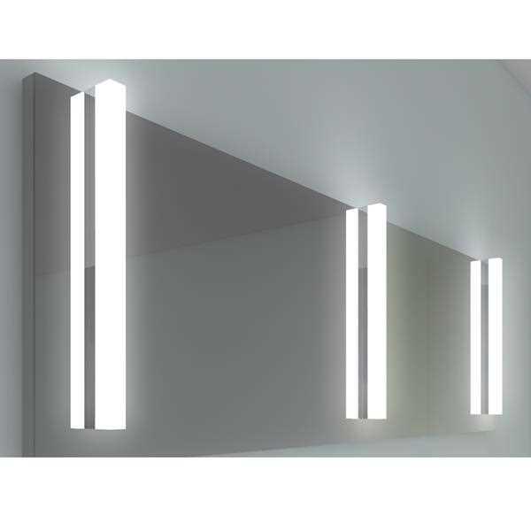 Innovative led spiegelleuchte flat rv in chrom - Spiegelleuchte badezimmer ...