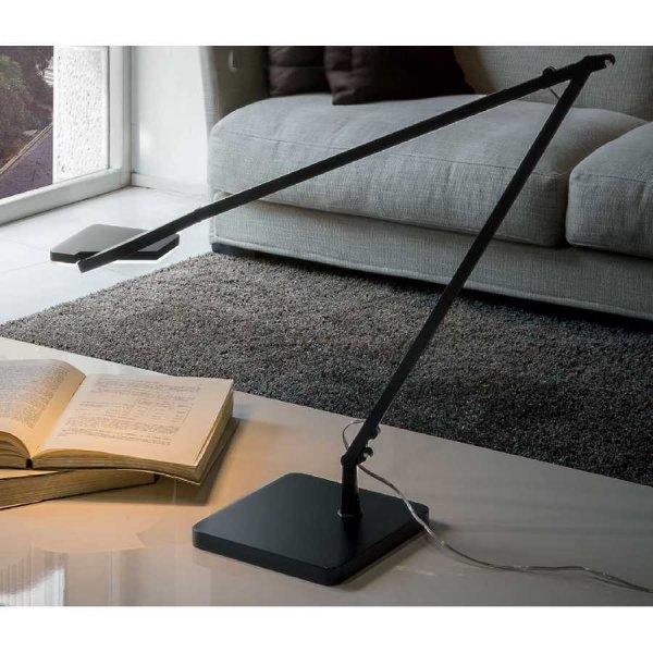 led tischleuchte st c7702 schwarz panzeri. Black Bedroom Furniture Sets. Home Design Ideas