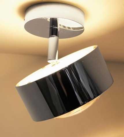 led deckenleuchte puk maxx turn up downlight top light. Black Bedroom Furniture Sets. Home Design Ideas