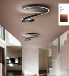 Braga Spira LED ceiling lamp 60cm grate 2130/PL60 M-23, - Showpiece